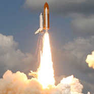 Gulf News - Shuttle launch travel feature