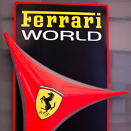 Cathay Pacific magazine - Ferrari World feature