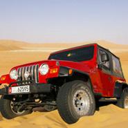 Abu Dhabi Week - desert driving feature